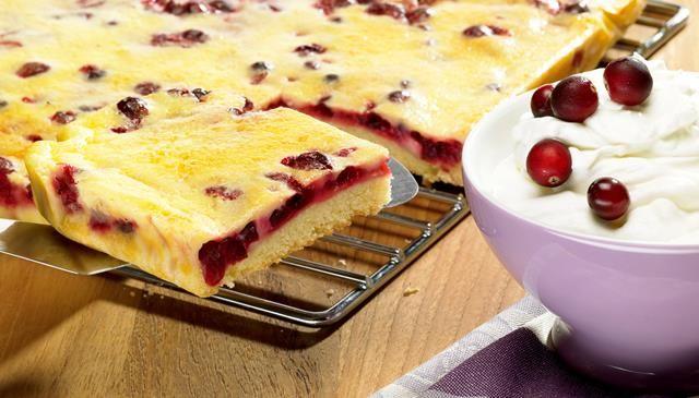 Cranberry kuchen recipe
