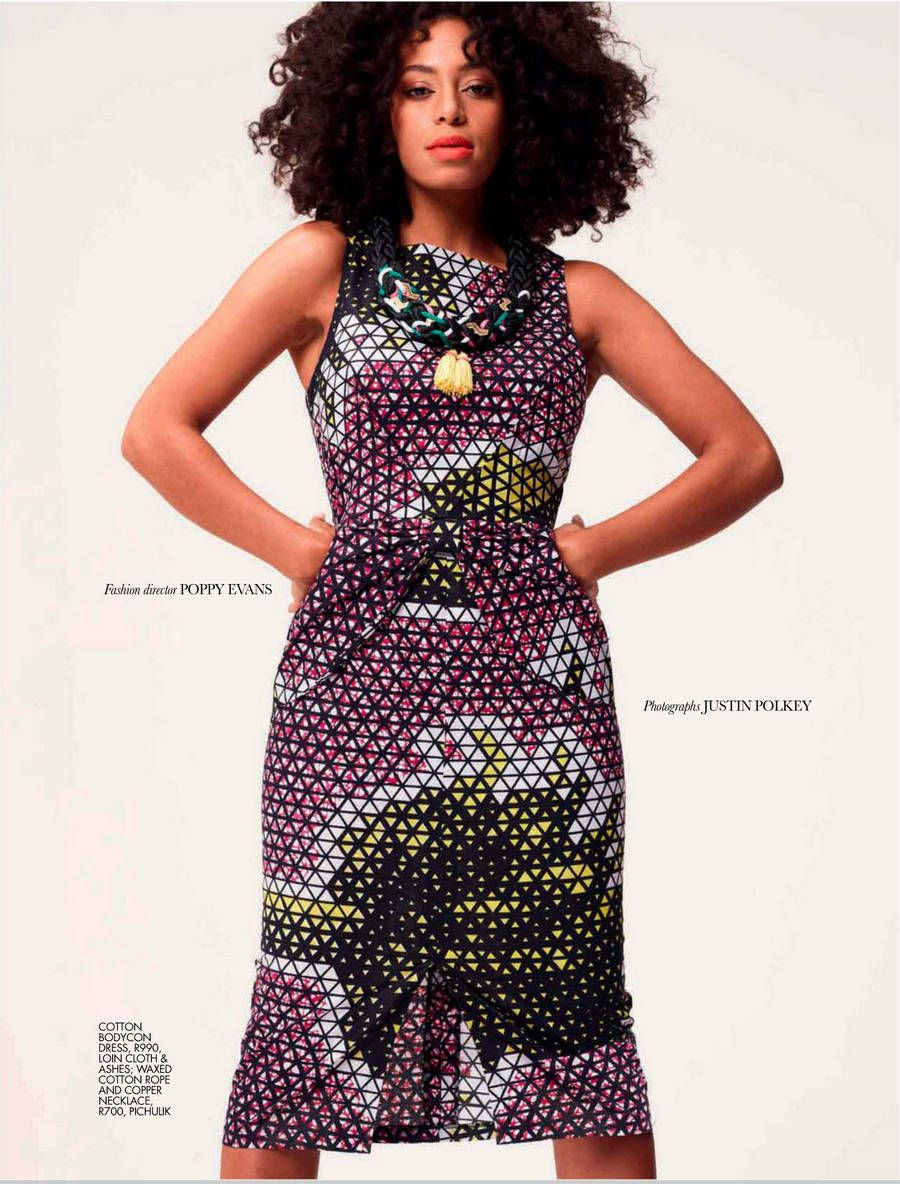 Solange Knowles Elle South Africa