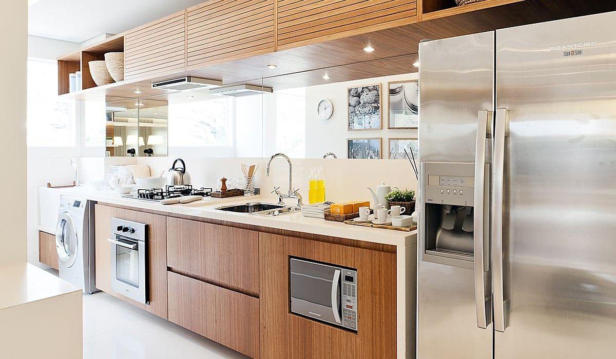 Lapa | Decorados: Cozinhas modernas por SESSO & DALANEZI