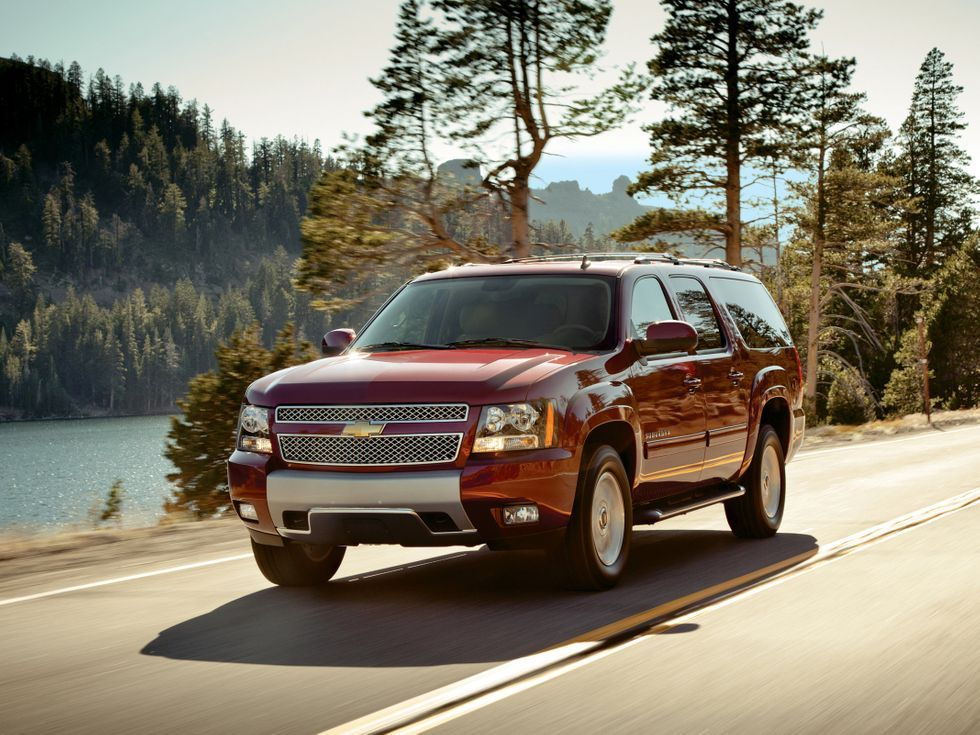 Best used SUVs under 25,000 2014 Chevrolet Suburban in