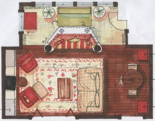 Candice Olson Interior Design Interior another floorplan sketch from candice olson | renderings