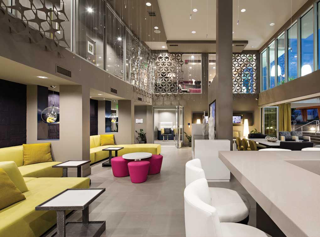 Luxury Clubroom With Gourmet Kitchen At Amli Lex On Orange
