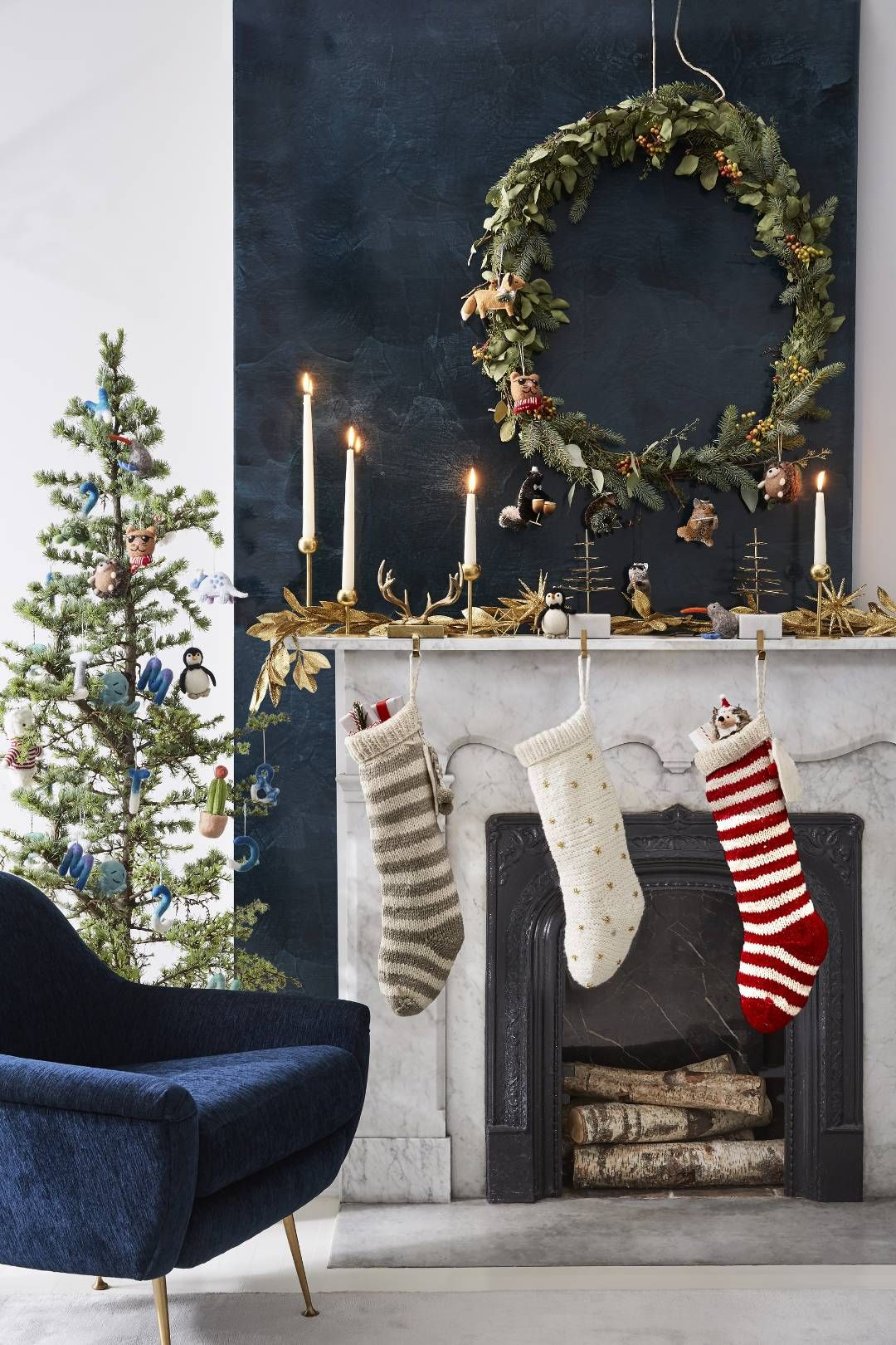 West Elm Christmas 2018.Bring On Winter West Elm S 2018 Holiday Line Has Us Feeling