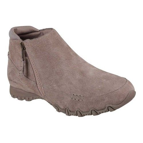 Women S Skechers Relaxed Fit Bikers Zippiest Ankle Boot Boots