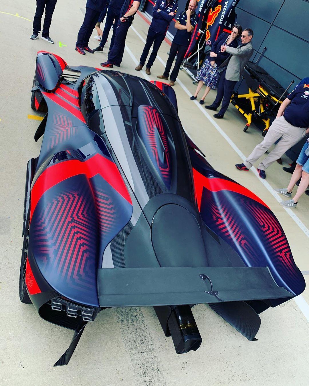 "Aston Martin Valkyrie Rear: Miles On Instagram: ""Flashback To Silverstone GP Last Year"