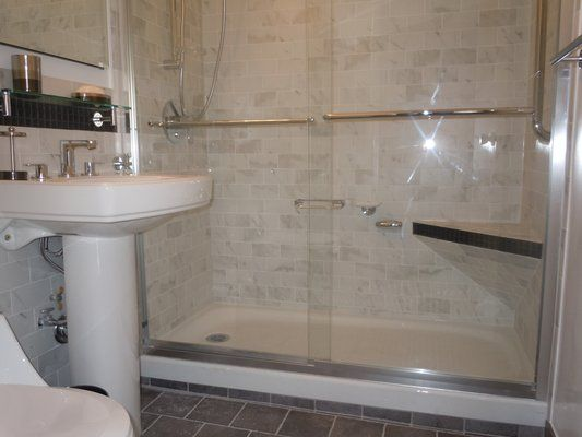 Marble Subway Tile Shower 3x6 Marble Subway Tiles Back Seat 5