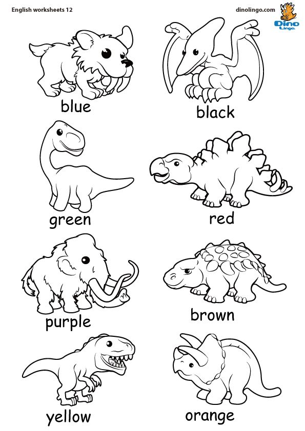 coloring dinosaurs din k dinos dinosaur worksheets spanish worksheets s dinosaur coloring. Black Bedroom Furniture Sets. Home Design Ideas