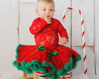 christmas outfit- SALE- Christmas Pettiskirt- Toddler Christmas Outfit -Christmas skirt-christmas tutu - christmas - Girls christmas outfit