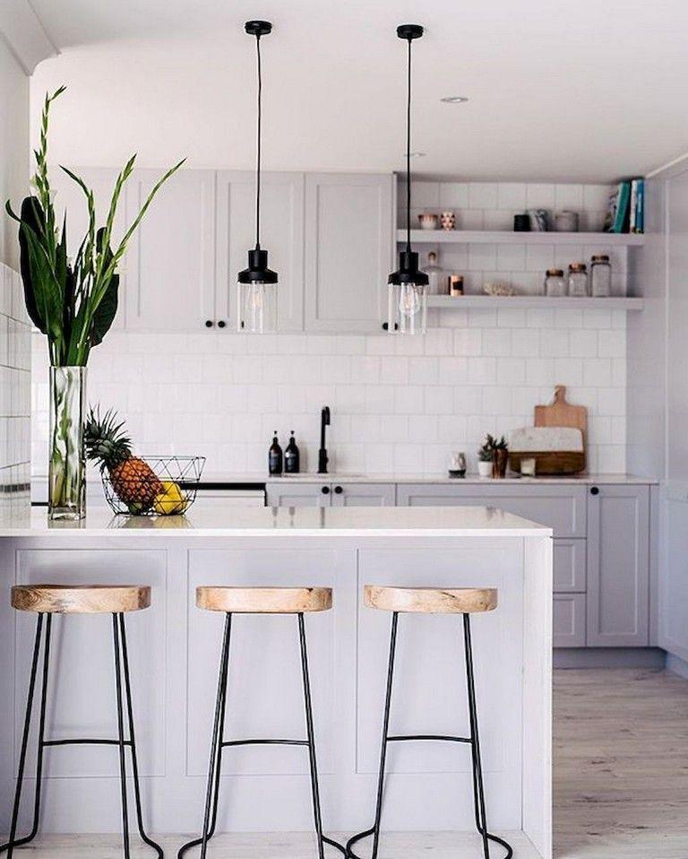 50 Luxury Apartment Kitchen Decor #apartment
