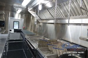 Food Truck Inside Trucks For Sale Interior Galleries Custom