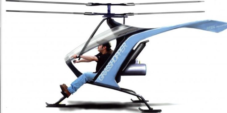 Ultralight Personal Helicopters Kits Personal Helicopter