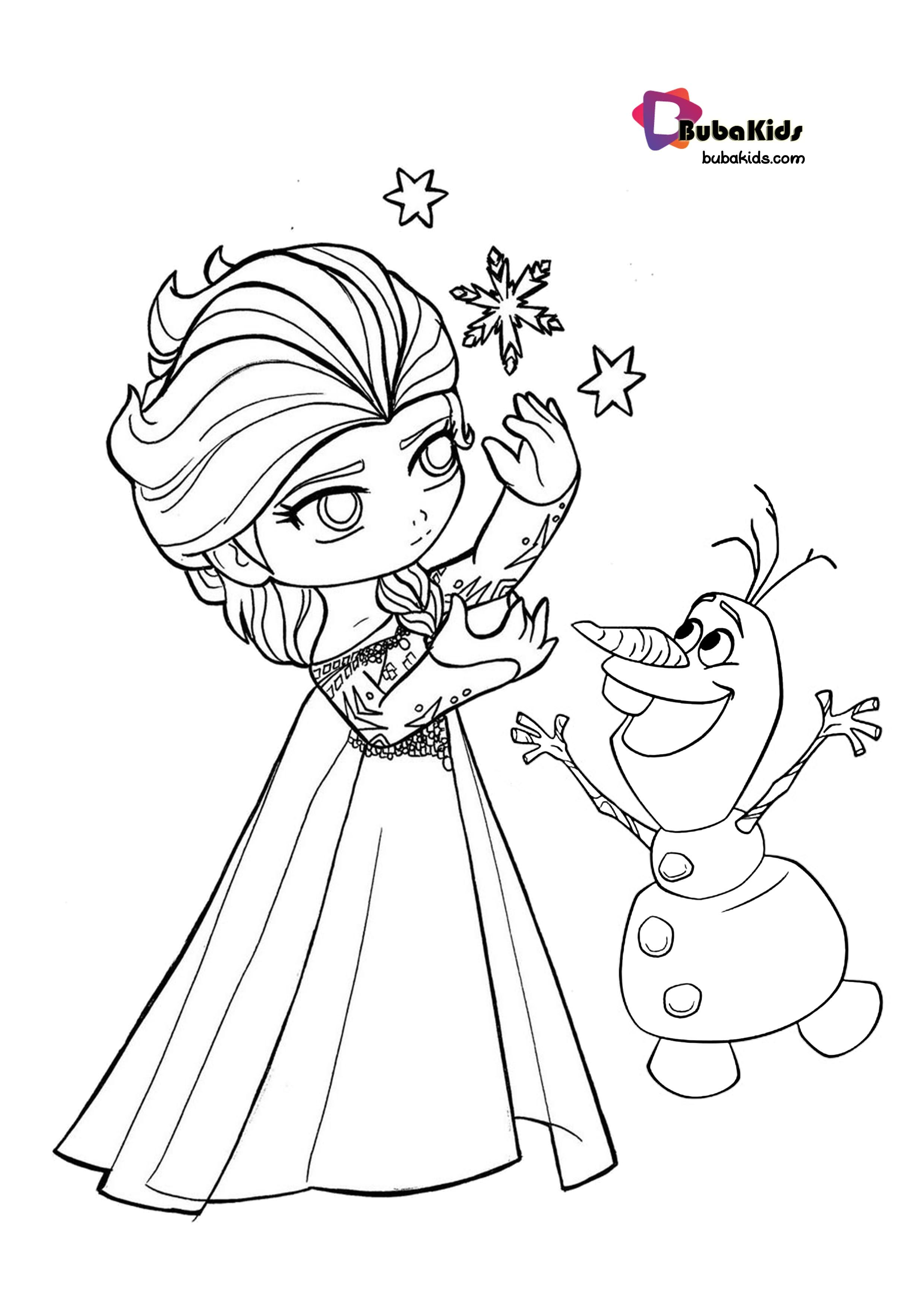 Bubakids Little Princess Anna Coloring Page Anna Coloringpage Disneyprincess Littleprincess A Cartoon Coloring Pages Coloring Pages Printable Coloring Book