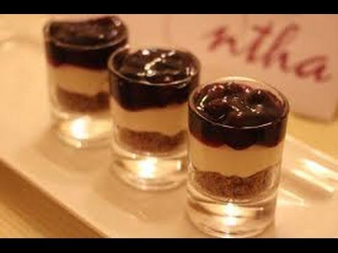 طريقة عمل كاسات التشيز كيك Cheesecake Food Mini Cheesecake