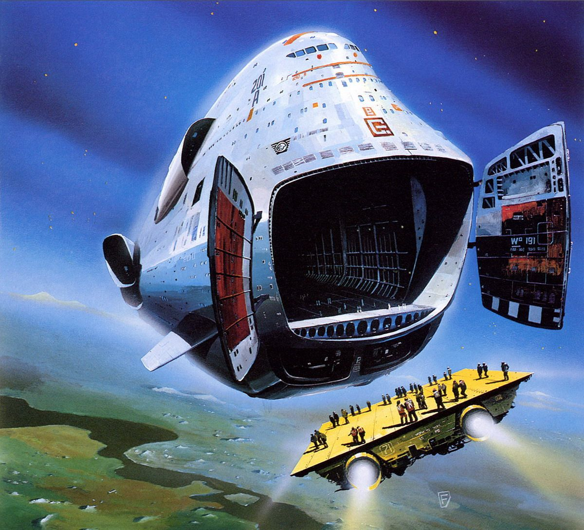 70s Sci Fi Art Chris Foss: Art, 70s Sci Fi Art