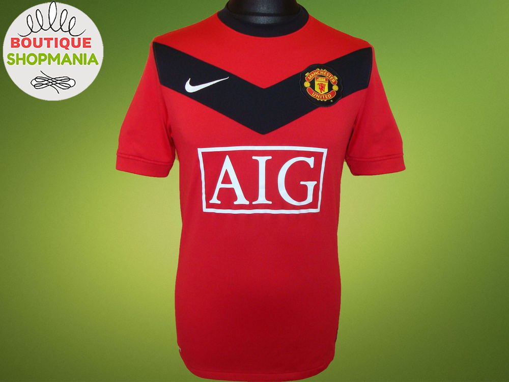 ed983e45f MANCHESTER UNITED HOME 2009 10 (S H173) NIKE FOOTBALL SHIRT Jersey Maglia  Camisa  NIKE  MANCHESTERUNITED