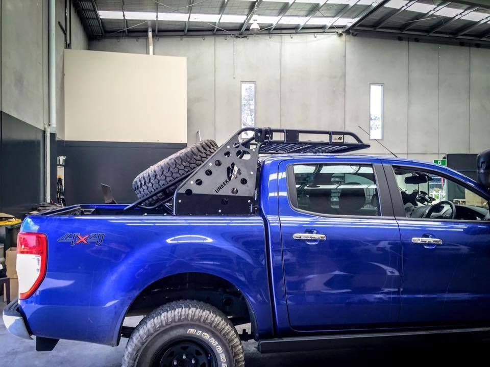 Uneek 4x4 Px Ranger Chase Rack Ford Ranger Ranger Roof Rack