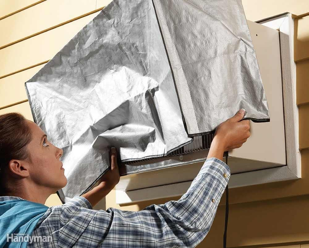 Slash Heating Bills Air conditioner cover, Window air