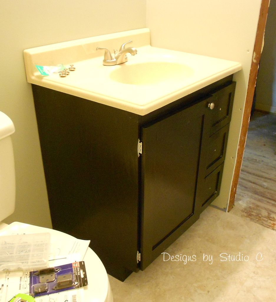 How To Make A Bathroom Vanity Cabinet Free Diy Woodworking Plans To Build A Custom Bath Vanity Dscn0675