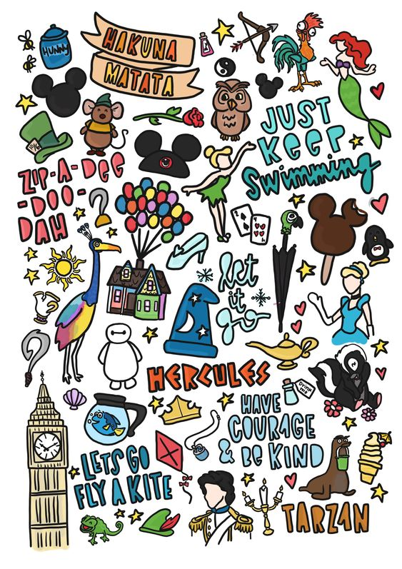 28 Beautiful Disney Bullet Journal Page Ideas And Spreads