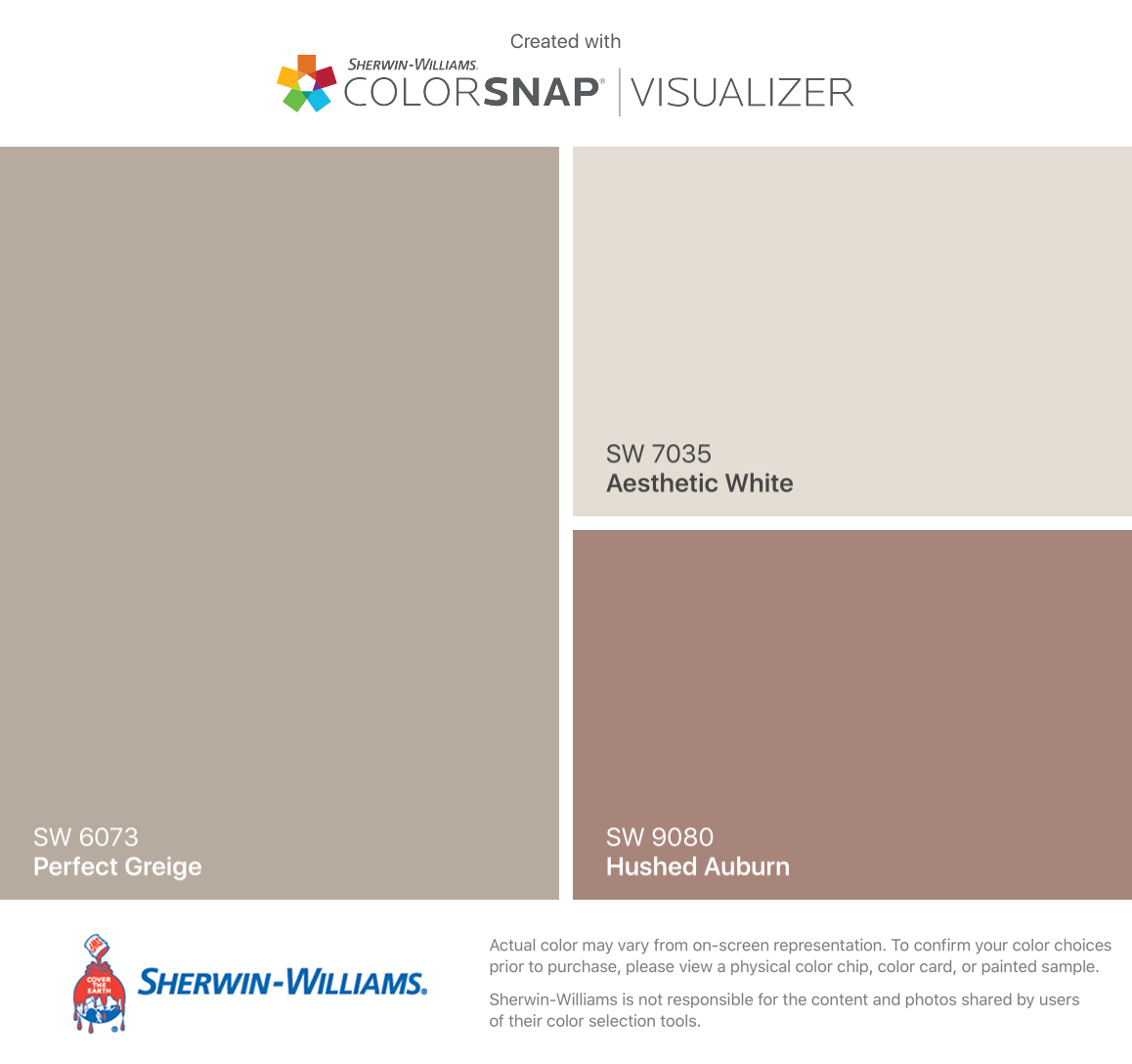 I Found These Colors With ColorSnap® Visualizer For IPhone By Sherwin  Williams: Perfect. Exterior Paint ...