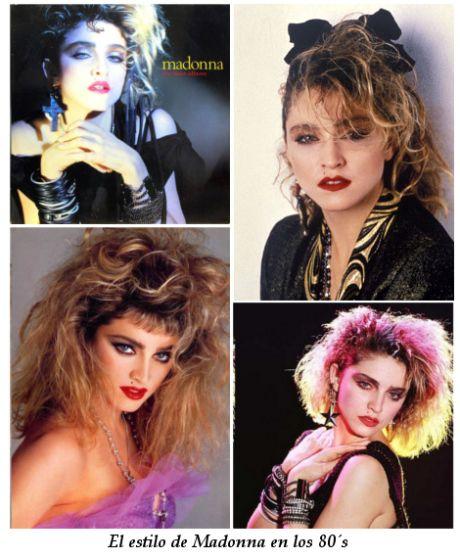 a0d6cea773 Estilo de Madonna en los Años 80 | Los 80 | Madonna en los años 80 ...