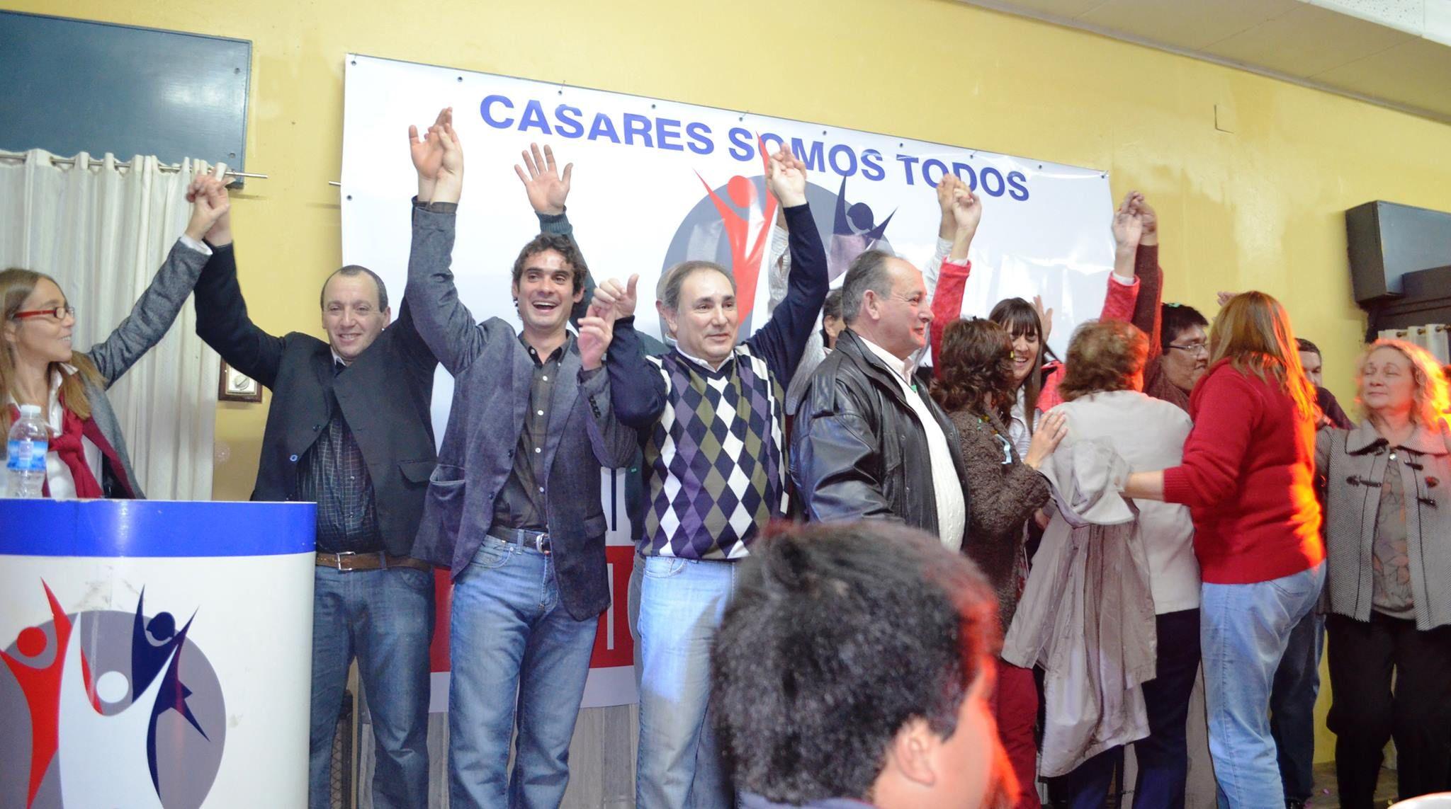 Lanzamiento del Frente Progresista Civico y Social de Carlos Casares