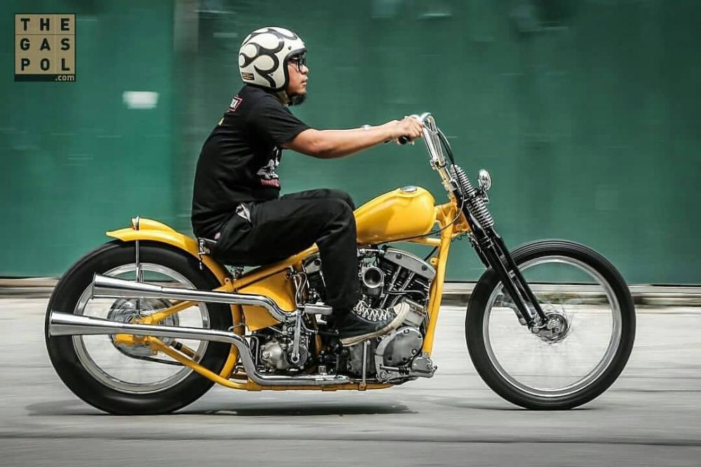Inspirasi Modifikasi Motor Custom Chopper Bratstyle Motor Chopper Motor Bobber Chopper