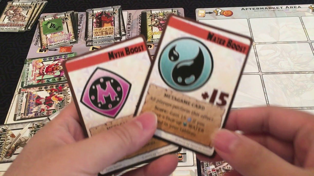 Board Game Reviews Ep #55: MILLENNIUM BLADES   Gaming
