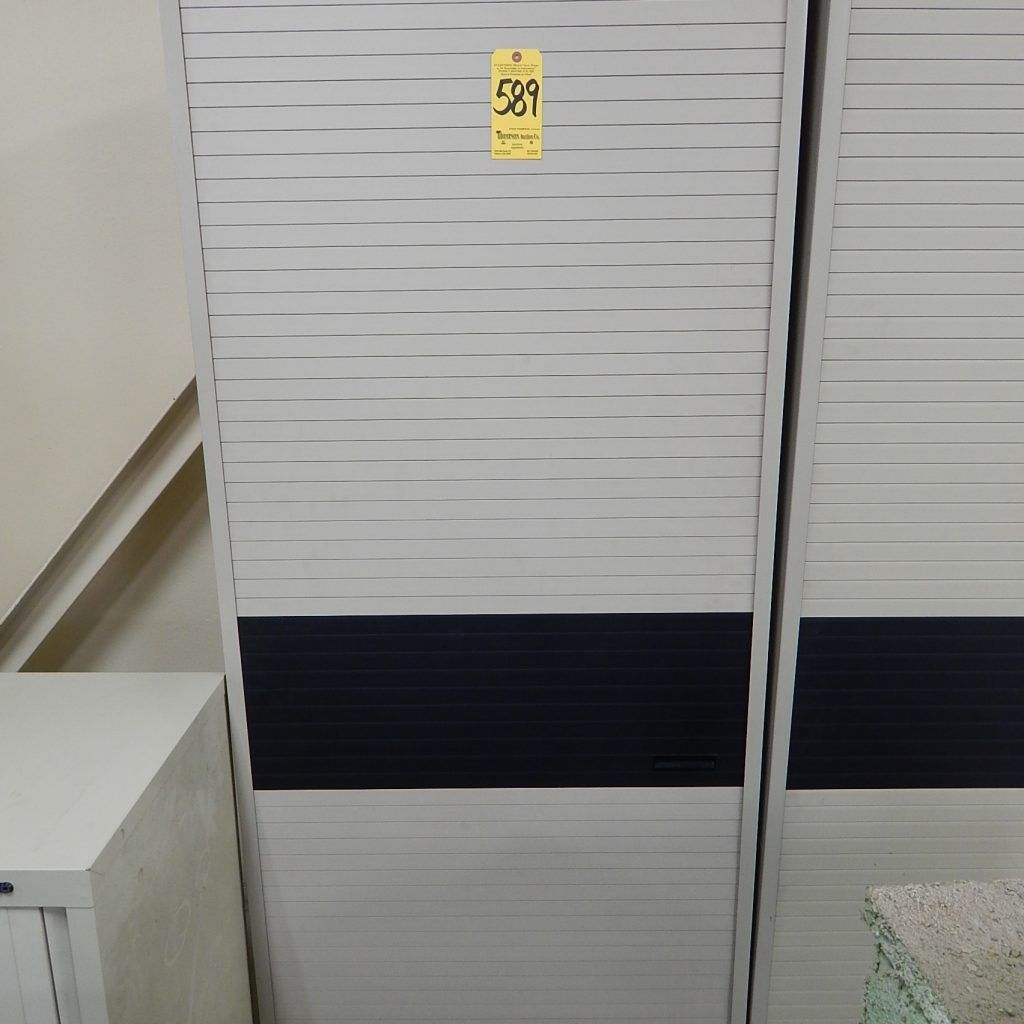 Rolling Storage Cabinet With Doors