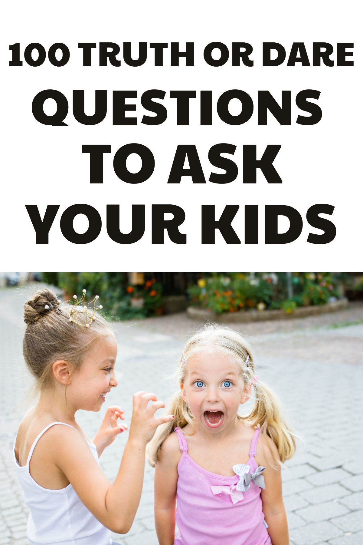 Challenges or kids printable dare Truth or