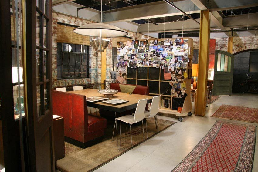 Cabina Armadio Gossip Girl : Humphrey residence ○ brooklyn loft ○ gossip girl shaping the