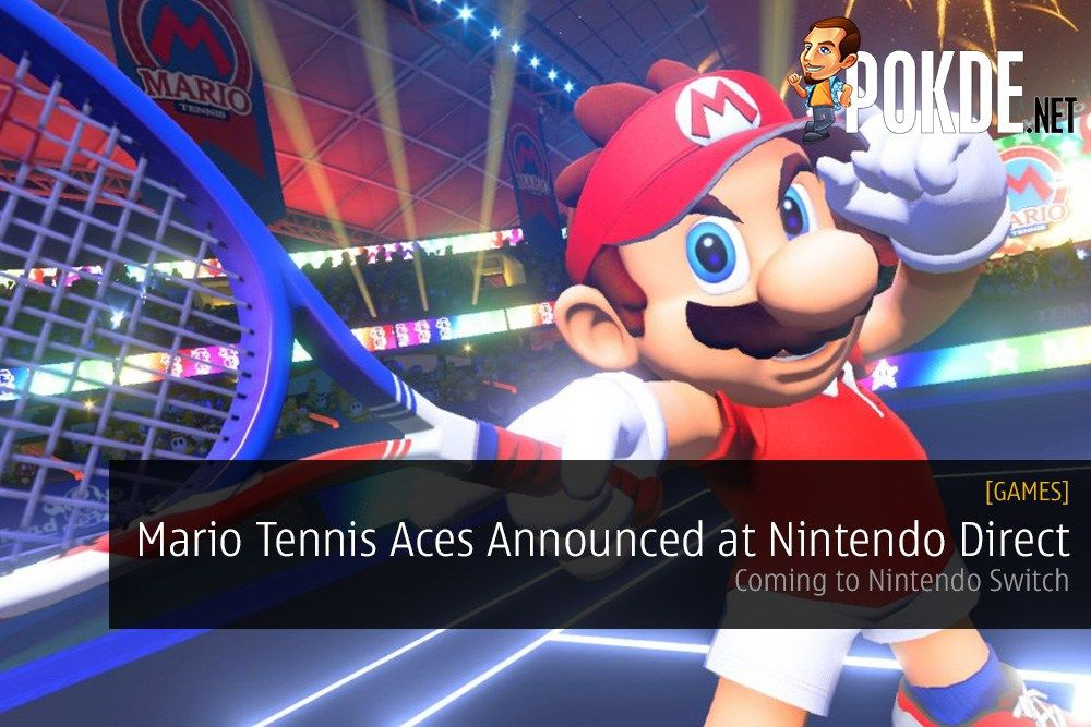 A major game has been announced at Nintendo Direct Mini for the Nintendo Switch, and it's definitely something many people will love. It's a brand new Mario Tennis game called Mario Tennis Aces.   Share this:   Facebook Twitter Google Tumblr LinkedIn Reddit Pinterest Pocket WhatsApp Telegram Skype Email Print