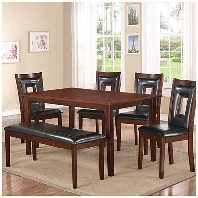Dining Set 6 Piece At Big Lots We Are A Growing Family Now Time To Upgrade Love This Set