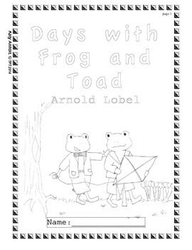 Workbooks for Readers: Days with Frog and Toad (ANSWER KEY