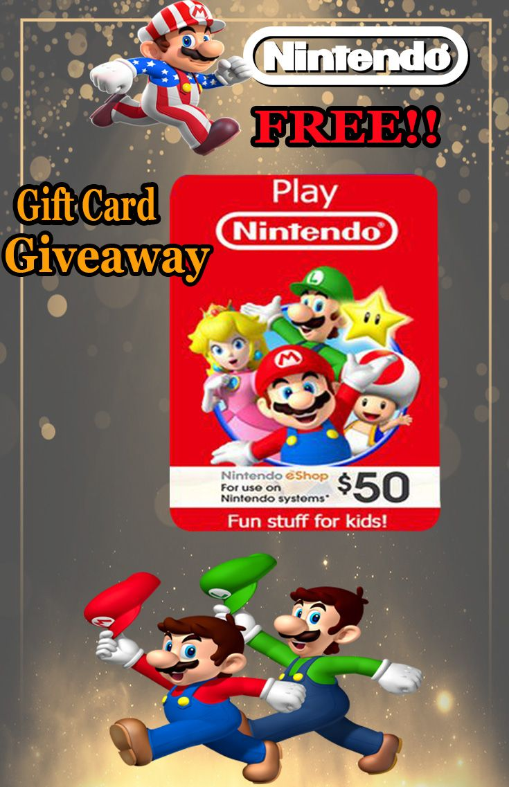 Photo of Free Nintendo Gift Card Giveaway!