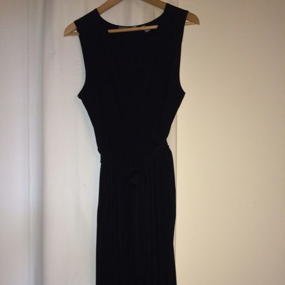 767877285bbc NY Collection Black Jumpsuit Size Large Cute jumpsuit! Wide leg. Great with  sandals worn