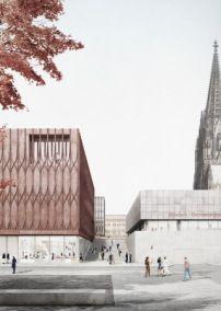 Neue Historische Mitte - Volker Staab gewinnt in Köln #arquitectonico