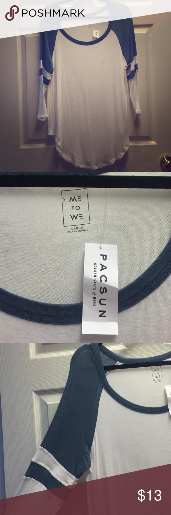 Quarter Sleeve Soft T-Shirt Never worn, such a soft shirt! PacSun Tops Tees - Short Sleeve