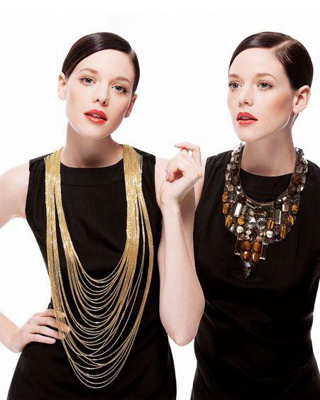 23 Ways To Glam Up Your Little Black Dress Black Dress Accessories Bold Jewelry Statement Jewelry