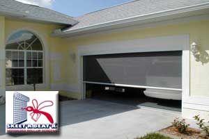 Retractable Garage Door Screen For Garage Playrooms