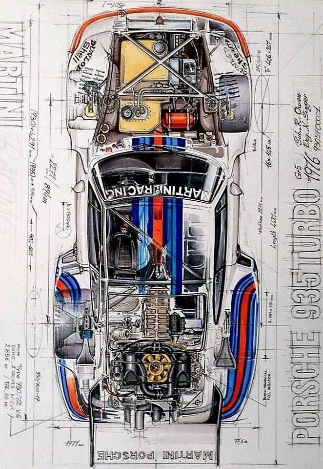 A 1982 PORSCHE 956 COUPE Tuning Motorsports CAR POSTER Multiple Sizes