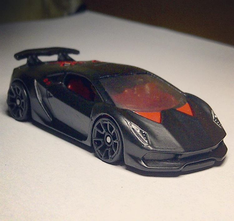 Another Different Angle From My Custom Hot Wheels Lamborghini Sesto