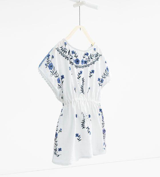 Imagen 1 de Vestido kaftán de Zara
