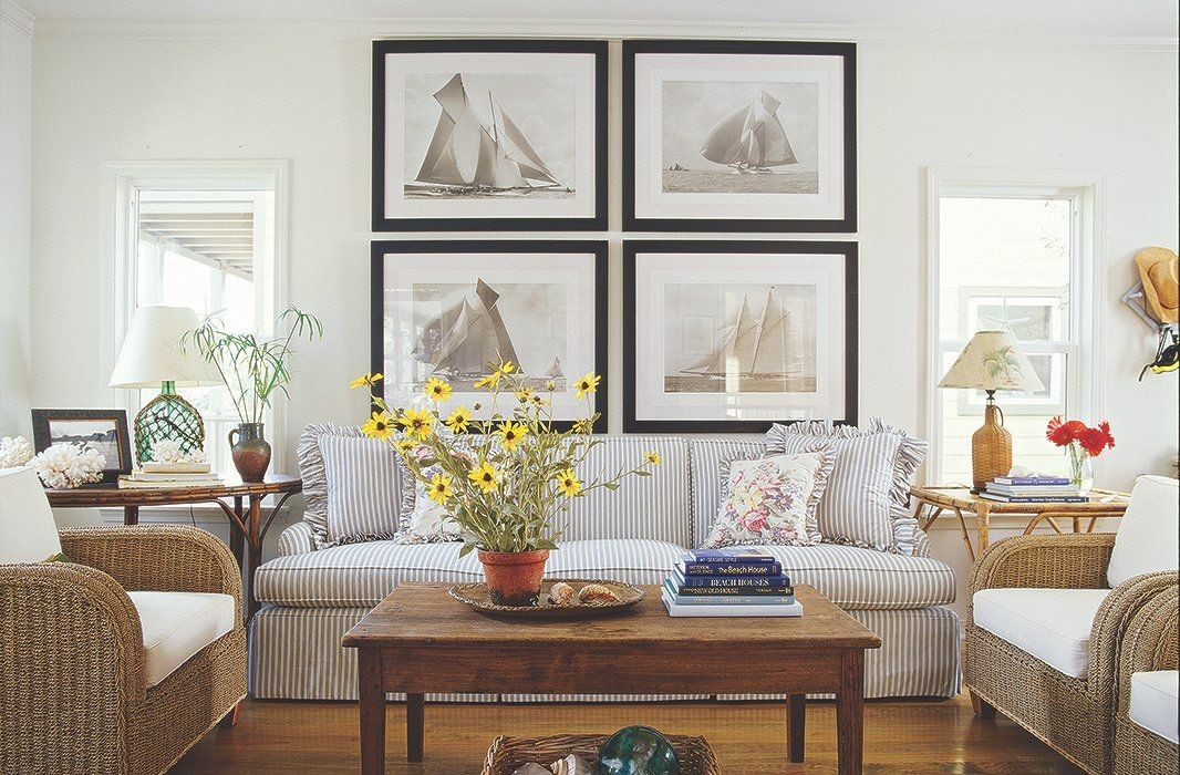 Nautical Interior Design Set 7 Simple Ideas For Displaying Coastal Art  Coastal Art Meredith .
