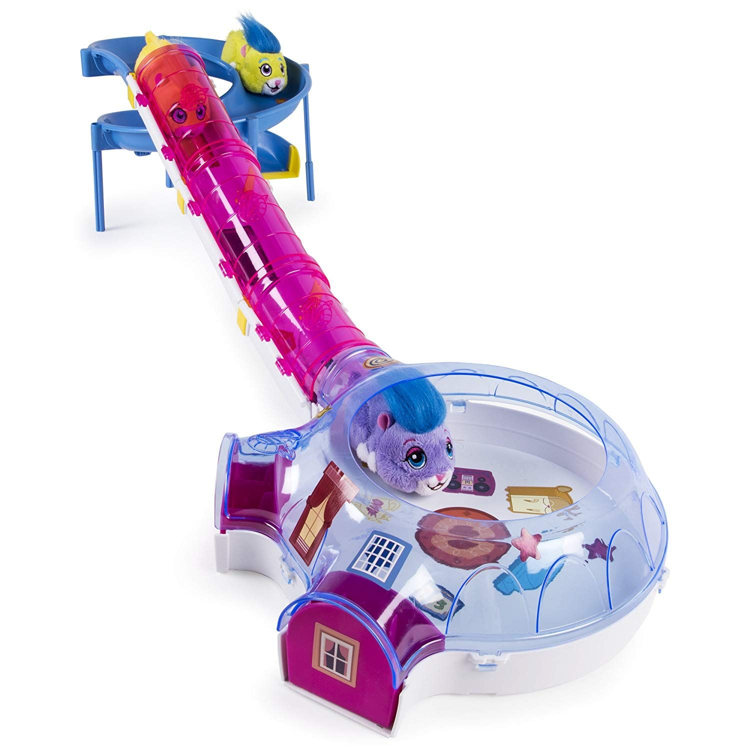 12 50 Reg 30 Zhu Zhu Pets Hamster House Play Set With Slide And Tunnel Score This Is A Great Price Grab The Hamster House Little Live Pets Zhu Zhu