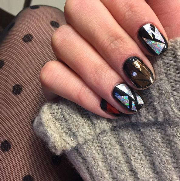 Manicure Na Sylwestra 2015 2016 Manicure Turquoise Ring Beauty