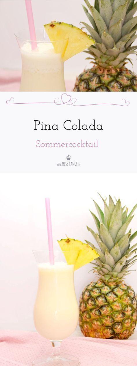 Sommercocktail Piña Colada #kokteyltarifleri