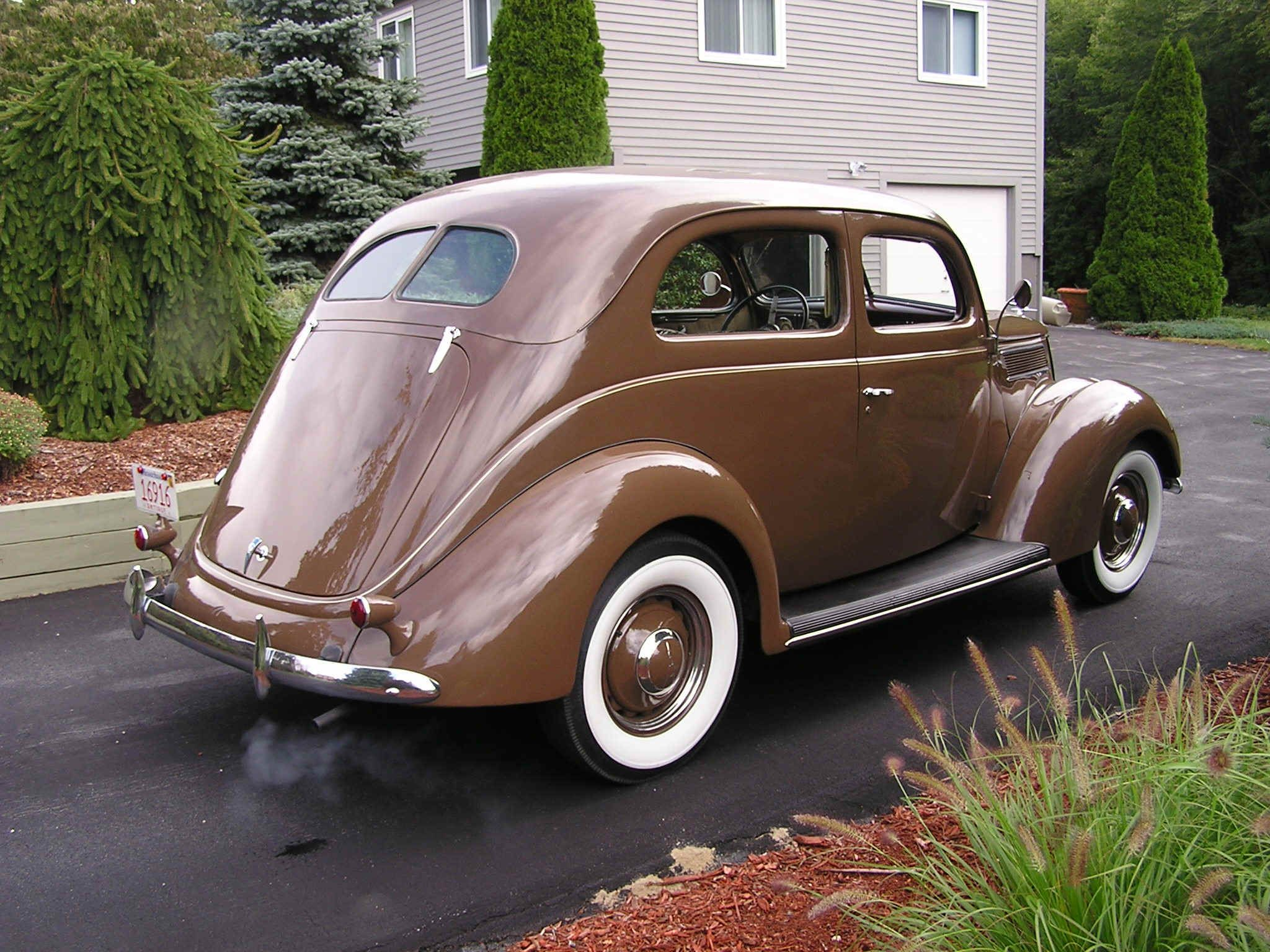 1937 ford 2 door deluxe sedan | ford cabriolet 2005 jeff