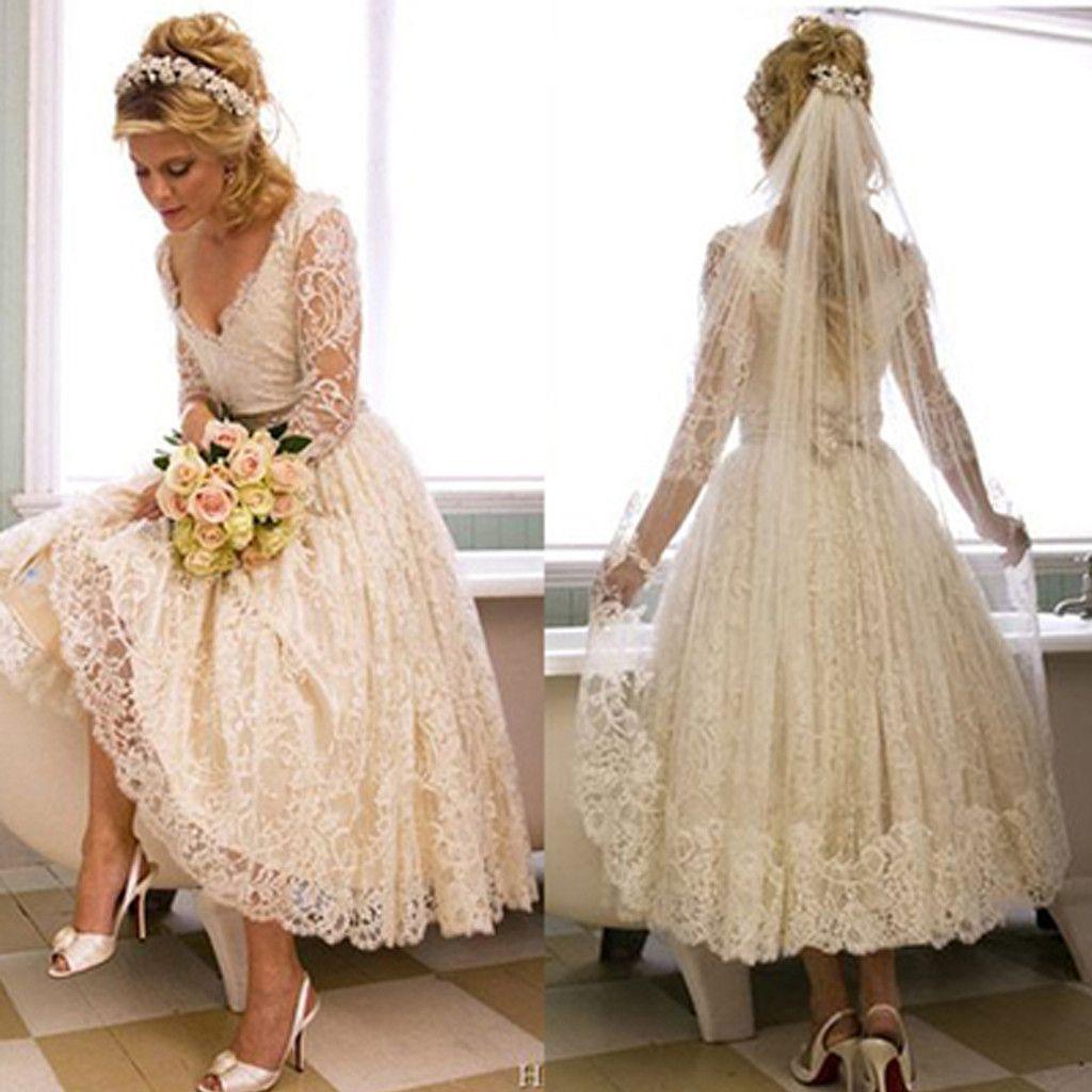 Hochzeitskleid kurz oder lang