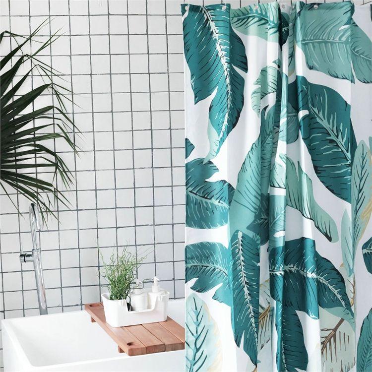 シャワーカーテン バスカーテン 防水防カビ 浴室 ダクロンカーテン